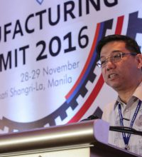 DTI Undersecretary and BOI Managing Head Ceferino Rodolfo welcomes the participants to the Summit.
