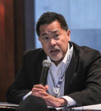 NCC Co-Chair Bill Luz moderates the EODB breakout group.