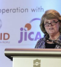 USAID Mission Director Susan Brems