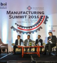 Panel 1: Shaping the Future of Philippine Manufacturing